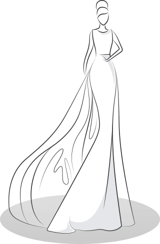 Fitted Wedding Dress Styles - Mermaid / Sheeth