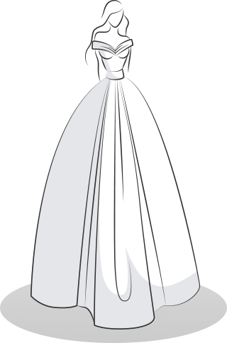 Wedding Dress Styles with Volume - Princes / A-line
