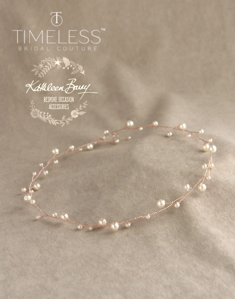 Cherize wreath rose gold ivory pearl kathleen barry timeless bridal (2) (1)