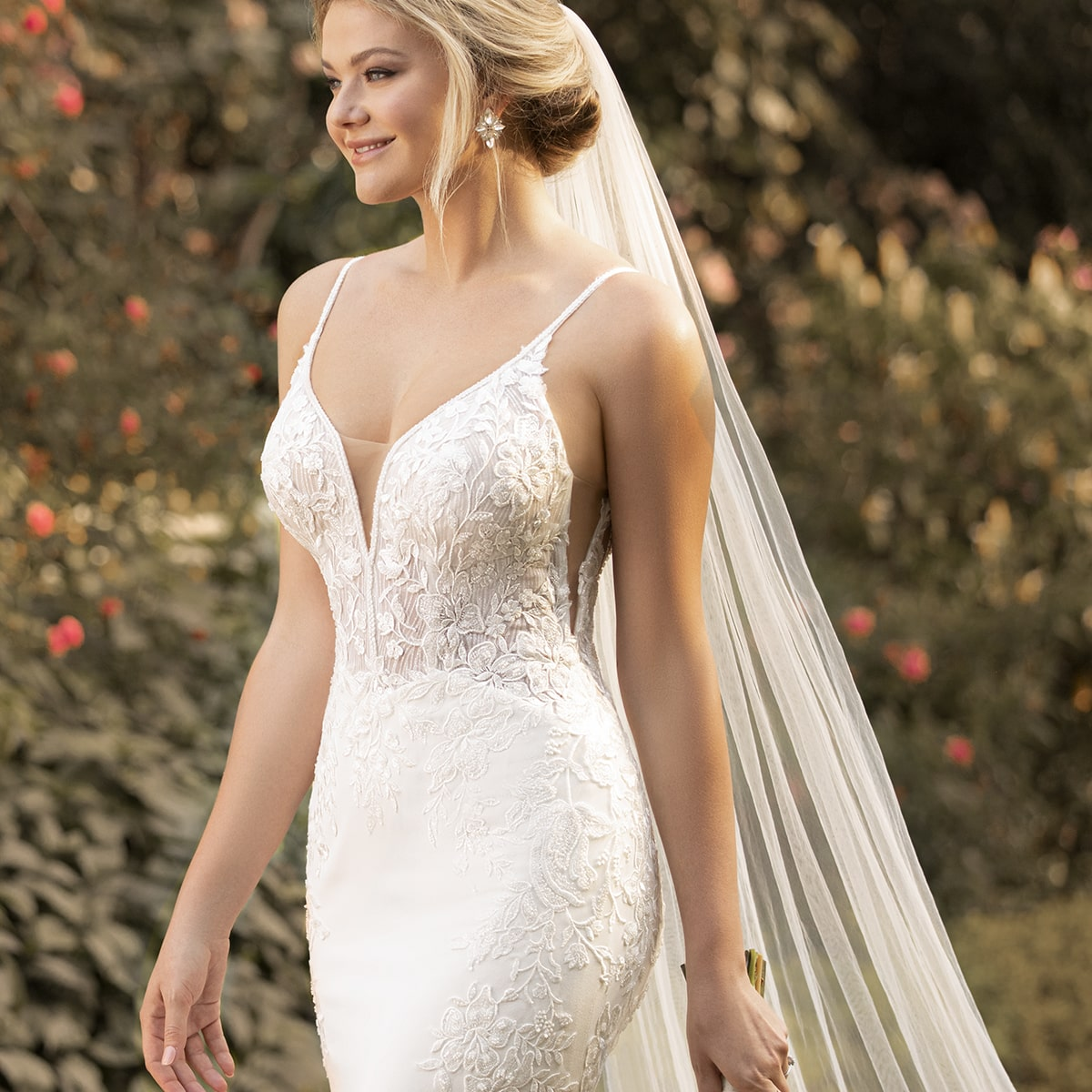 Crepe and Lace Trend Wedding Dresses