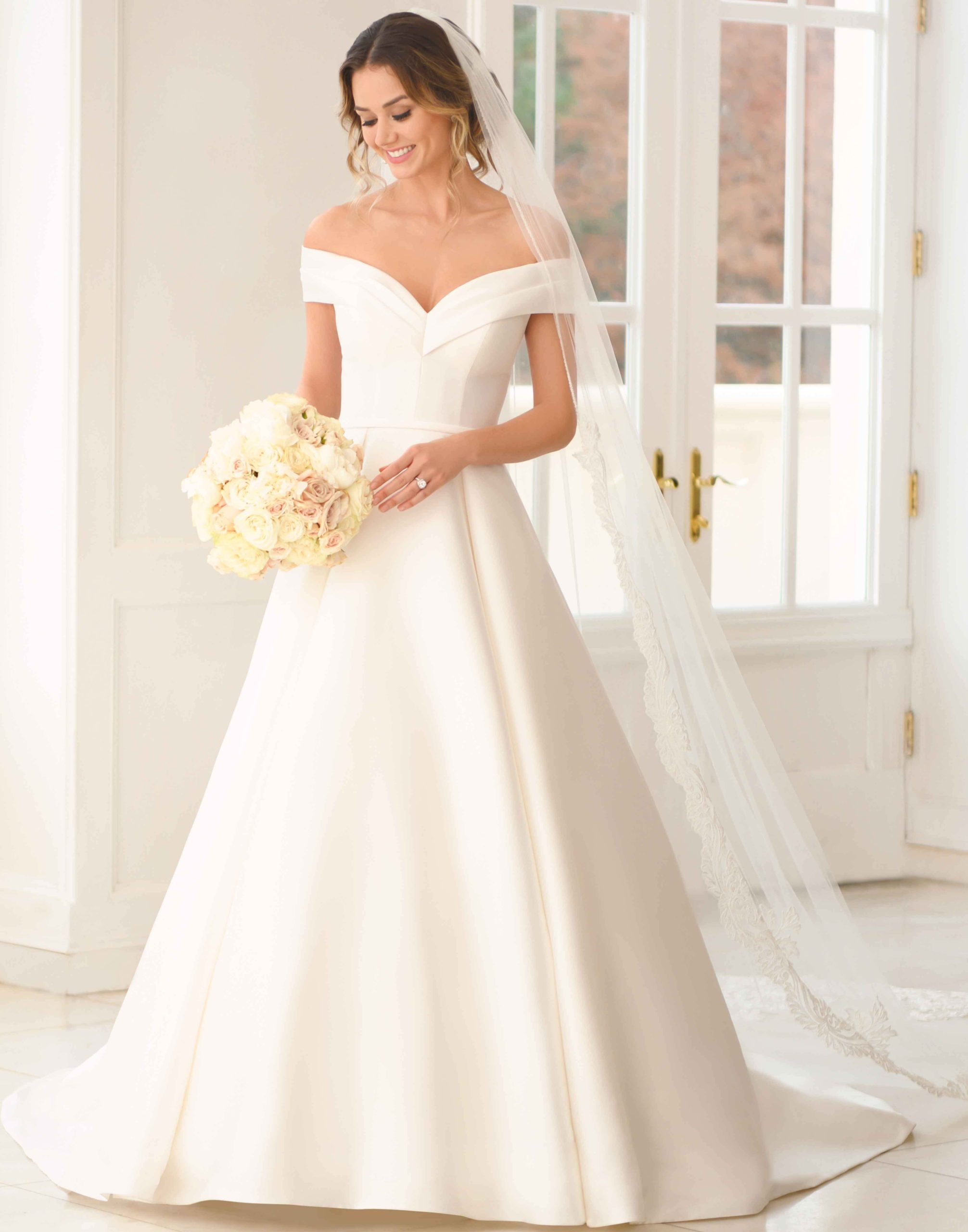 Alexia – Modeca Wedding Dress Collection – Front View