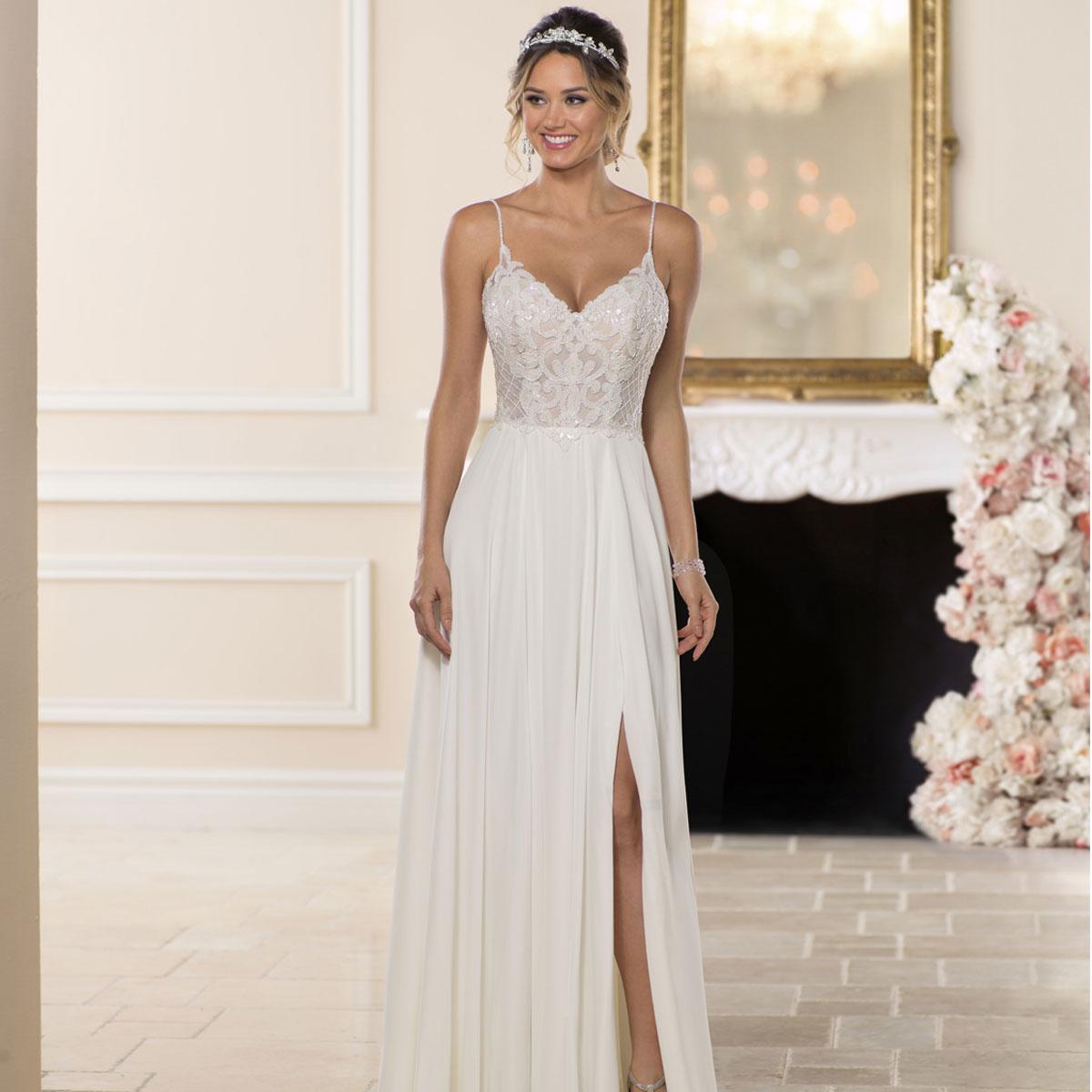 Beach Wedding Dress Trend
