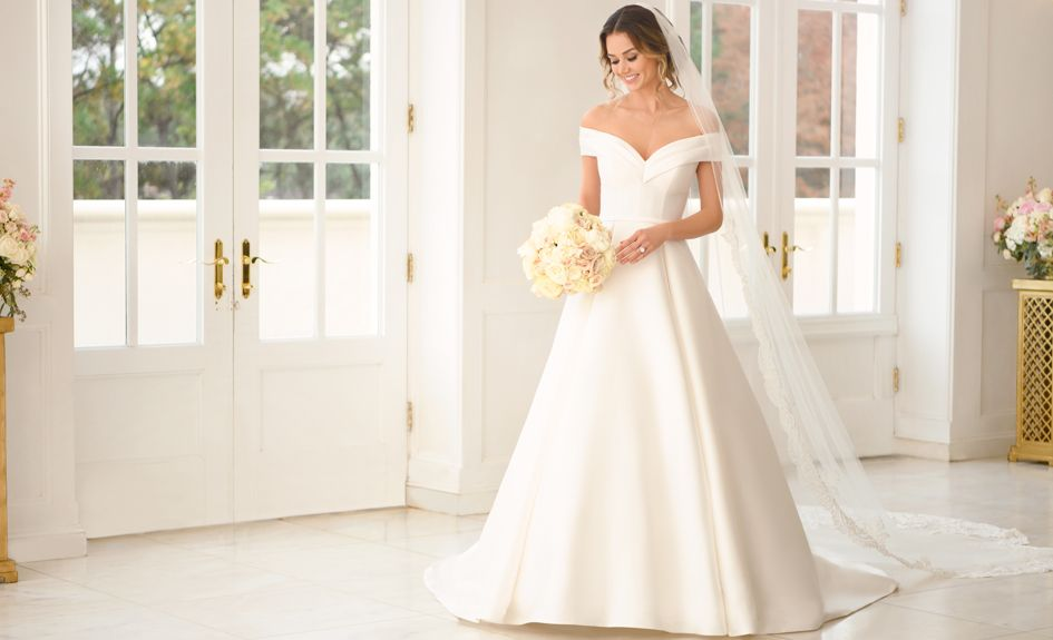 Beautiful and Elegant Stella York Wedding Dress