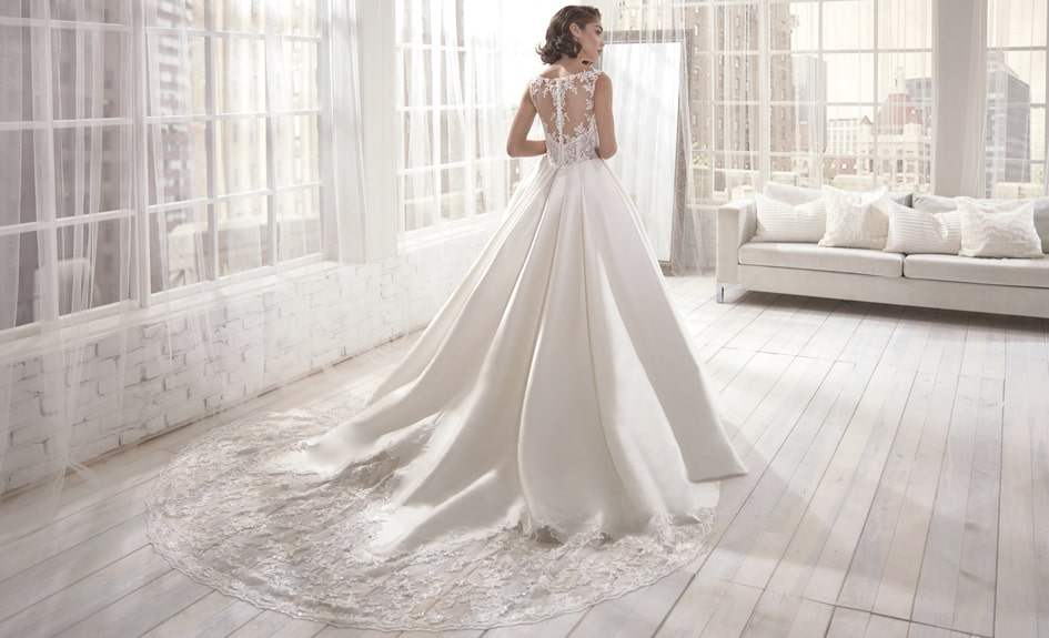 Ball Gown Wedding Dress- Juliet - Colet Collection