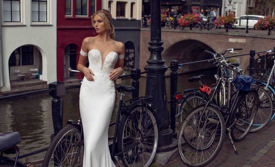 Kylie - Modeca Wedding Dress Collection - Front - Blog