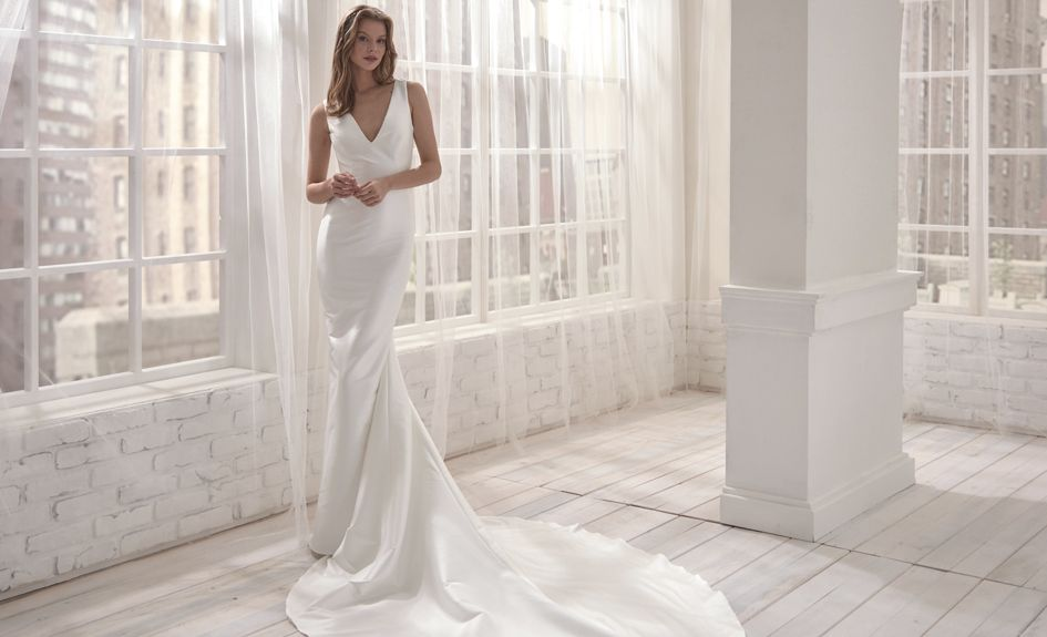 Sophisticated Simple Wedding Dresses