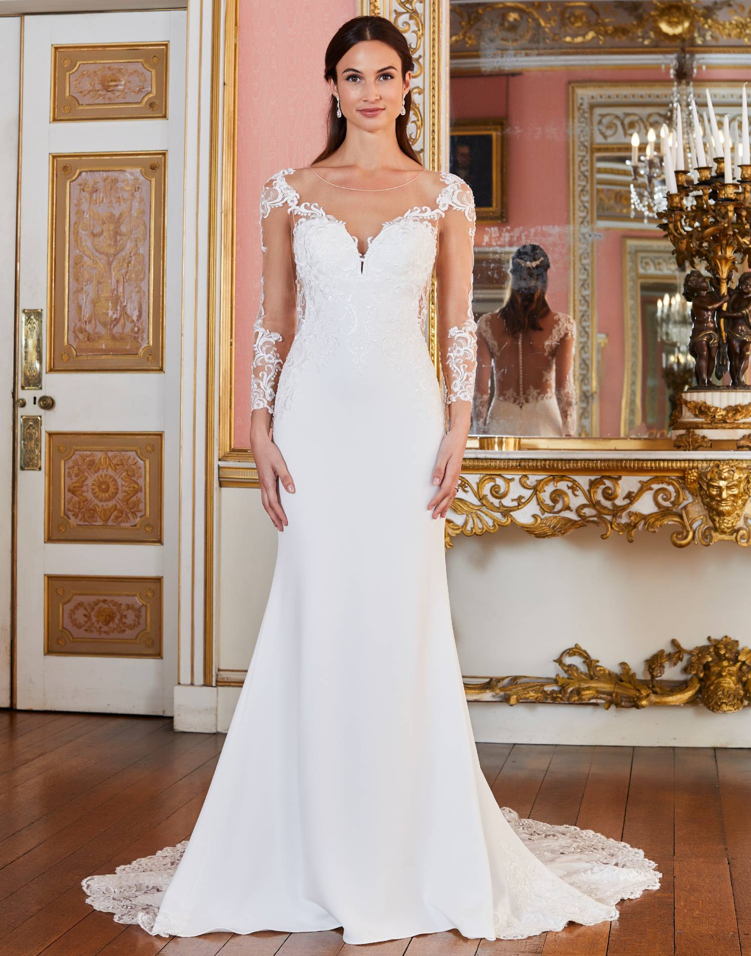 FRESNO – Tiffanys Wedding Dress Collection – Front View
