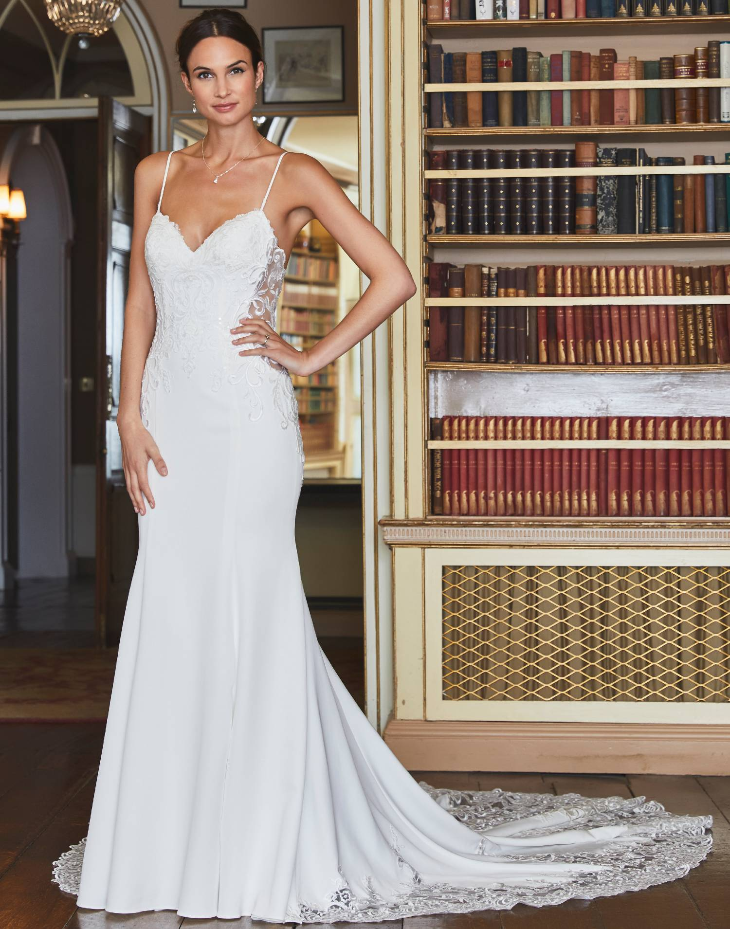 VENTURA – Tiffanys Wedding Dress Collection – Front View